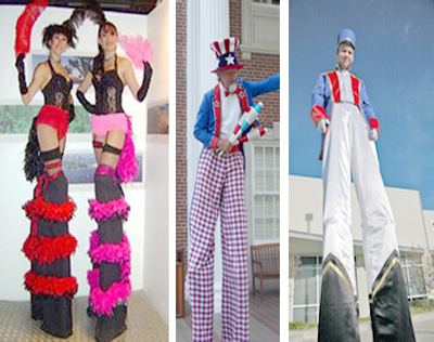 Dallas Carnival Game Rentals: Stiltwalkers