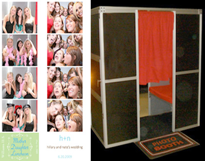 Dallas Carnival Game Rentals: Sit Down Photo Booth