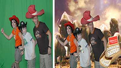 Dallas Carnival Game Rentals:4x6 Instant Green Screen station