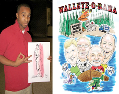 Dallas Carnival Game Rentals: Caricature Artists