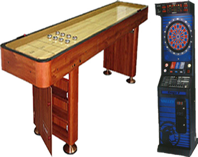 Dallas Carnival Game Rentals: Electronic Darts & Shuffleboard