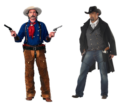 Dallas Party Western Theme Gun Fighters